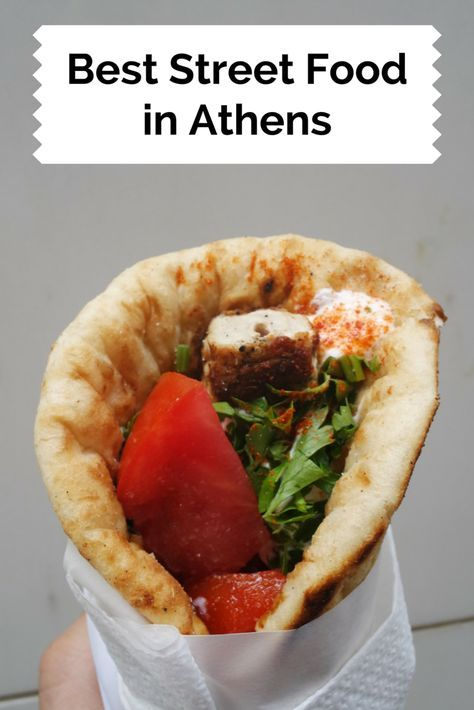 Where you will eat the best Street Food in Athens