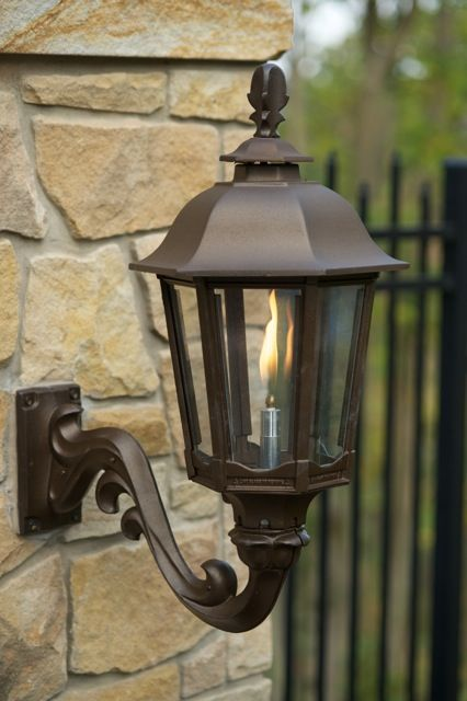 Wall Gas Lamps : 19 best images about Open Flame Gas Lamps on Pinterest Seasons, The o jays and Warehouses