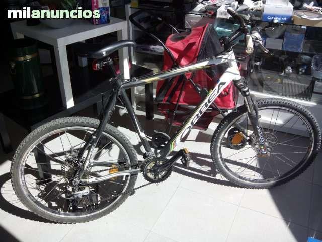 . bicicleta orbea con 22  con freno disco de cable en buen estado.