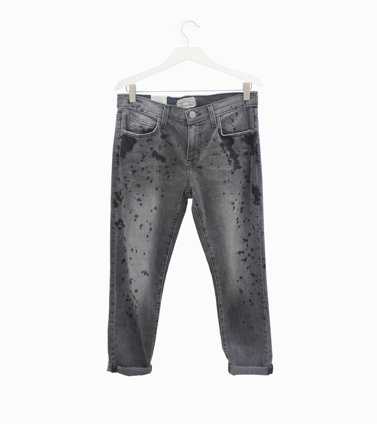 Current Elliott The Fling Black Tinder jeans #arropame #conceptstore #bilbao #currentelliott #agender #fashion #fw2015 http://arropame.com/mocasines-chuches-una-necesidad-una-casualidad-un-descubrimiento-un-deseo/
