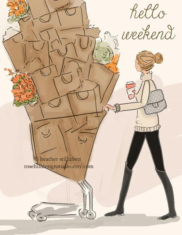 Weekend shopping trip