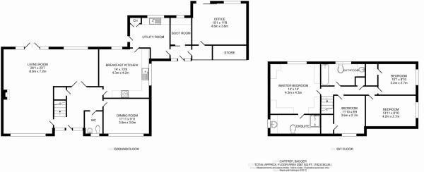Floorplan, Dormer, Badger