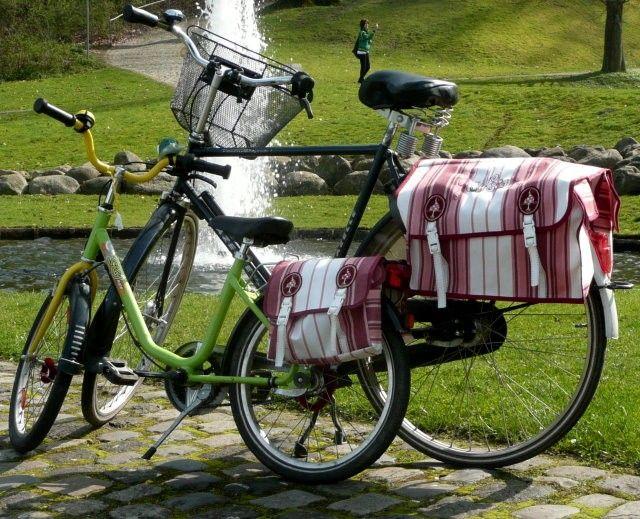 HoppHoppHopp, die Satteltasche für's Fahrrad, Kreativ-Ebook - farbenmix Online-Shop - Schnittmuster, Anleitungen zum Nähen