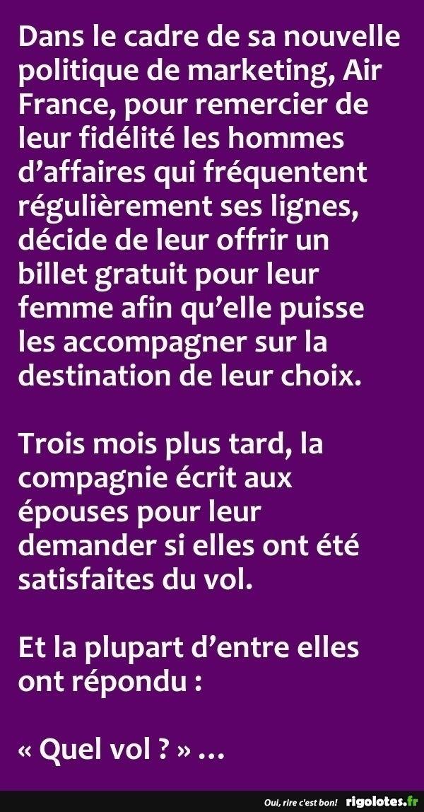 Dans le cadre de sa nouvelle politique de marketing... - RIGOLOTES.fr