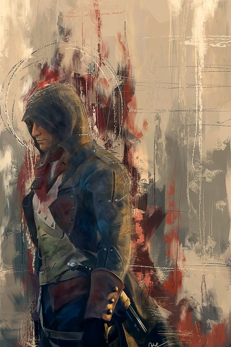 Assassin's Creed Unity: Arno Dorian - Created by Wisesnail Prints available for sale at Society 6.