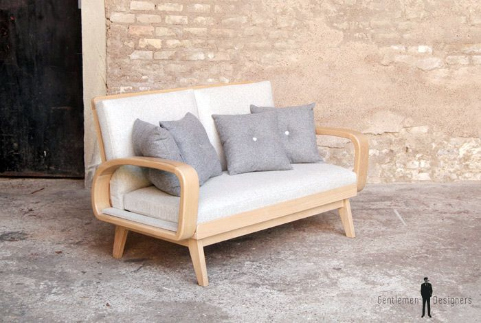 CANAPE - Meuble style vintage - Made in France - sur-mesure