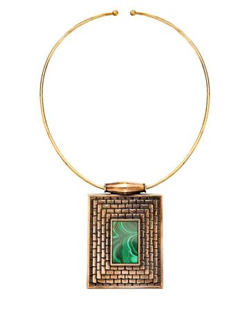 The Extras: Going Green - Pamela Love necklace