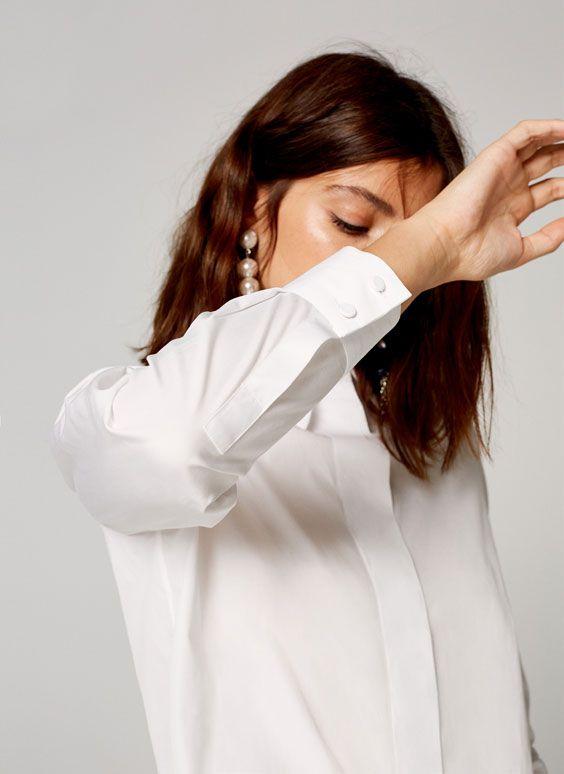 Uterqüe España Product Page - Colección - Camisas y blusas - Camisa popelín tapeta - 69