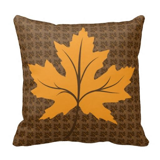 Modern Maples Pillow : 17 Best images about Autumn on Pinterest Vintage style, Fall harvest and Maple leaves