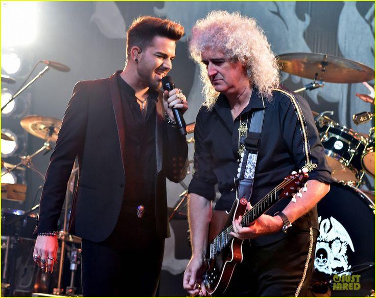 adam lambert queen tour at iheart radio theater 10 Adam Lambert wows the crowd while performing during Queen + Adam Lambert for iHeartRadio Live at the iHeartRadio Theater on Monday (June 16) in Burbank, Calif. …