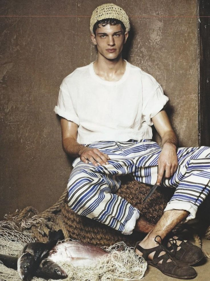 Slouchy Summer look on Liuk Bass by Giampaolo Sgura (GQ Italia)