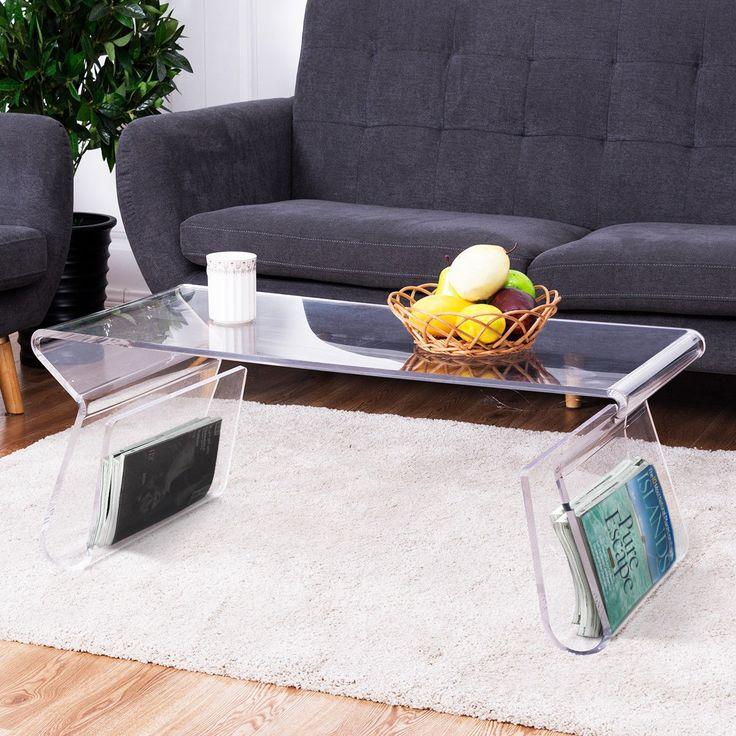 Best 25+ Acrylic Coffee Tables Ideas On Pinterest