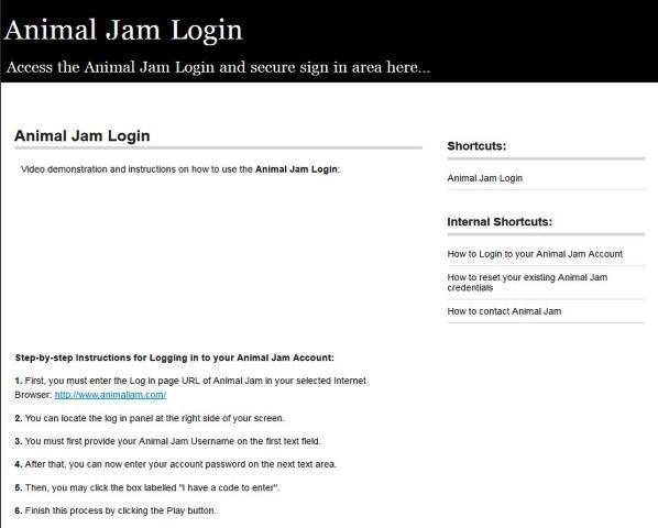 http://animaljam.loginj.net/ | Animal Jam Login - Secure Login | Animal Jam Login. Sign in to obtain access to your Animal Jam account.