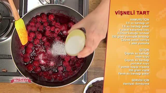 """Memet Özer ile Mutfakta """"Vişneli Tart"""" özel videosunu izlemek için tıklayın!"""