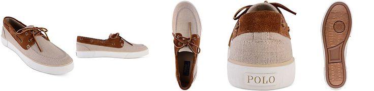 Beach Wedding Shoes - Polo Ralph Lauren Men's Rylander Boat Shoes -http://www.floridakeysweddingcenter.com/what-to-wear---guests.html
