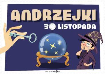 Andrzejki - Printoteka.pl