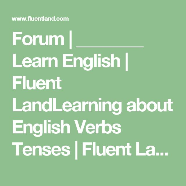 1000+ ideas about English Verbs on Pinterest   Learn english ...