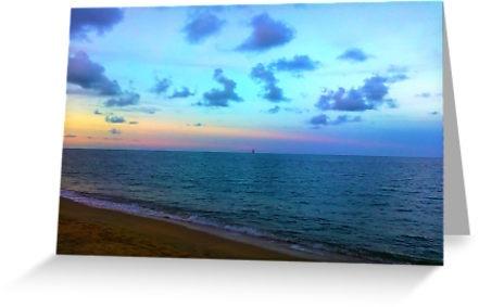 Trinity Beach Sunset, Queensland by Samantha Aungle