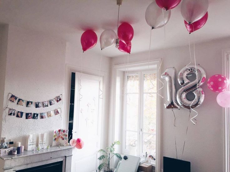 d coration anniversaire 18 ans birthday my diy pinterest birthdays. Black Bedroom Furniture Sets. Home Design Ideas