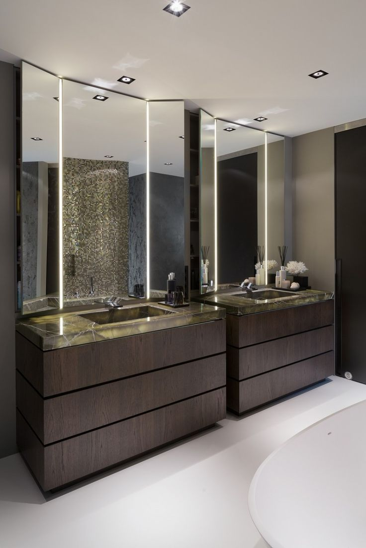 Tri Fold Mirrors Bathroom Full Image