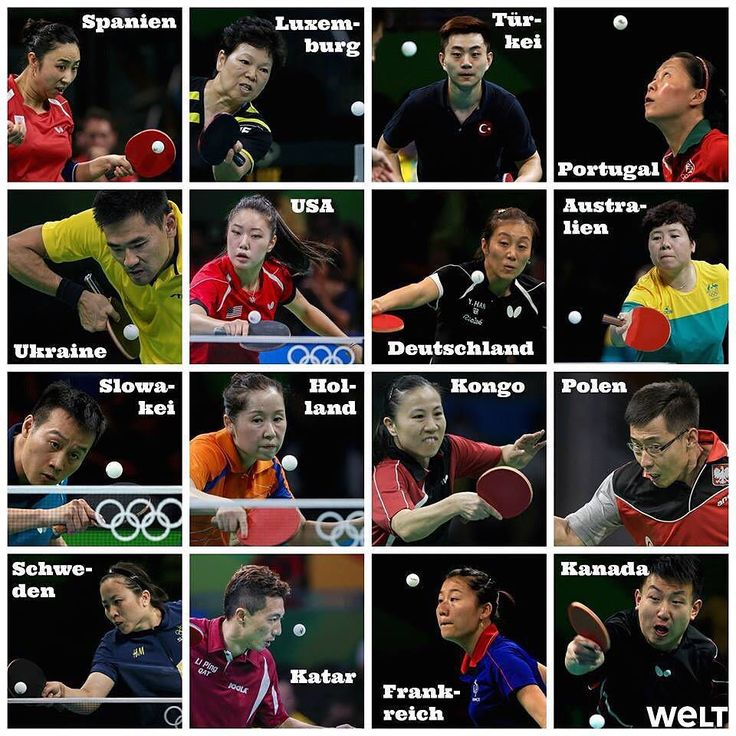 Olympics! so many countries! but wait are they all Chinese?  #olympics #tabletennis #chinese