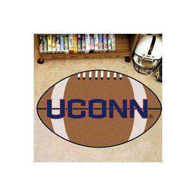 FANMATS NCAA University of Connecticut Football Mat