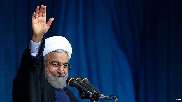 Mr Rouhani said