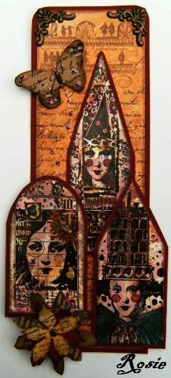 PaperArtsy. Lynne Perrella stamps