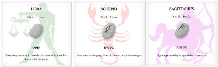 Daily Runescope 11/17/2017 https://www.tarot3d.net/tagesrune/en/horoscope  #Horoscope #Zodiac #libra #scorpio #sagittarius