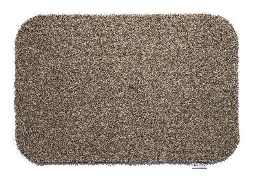 """Hug Rug Dirt Trapper Washable Door Mat Runner approx 25"""" x 59"""" - Cappuccino by Cotswold Mat Co Ltd. $69.95. Machine washable at only 30°C.. Waffle backing created from recycled car tyres to give excellent grip on hard floors.. Highly absorbent cotton rich pile soaks up 95% of all dirt and moisture from feet as well as paws!. 5 year guarantee. Made in the UK. Approximate thickness 8mm. Made in the UK using a cotton rich pile which absorbs 95% of all dirt and moi..."""