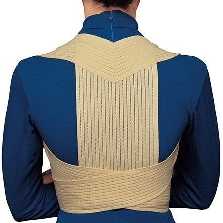 OTC Professional Orthopaedic Elastic Posture Support, Beige - 1 ea.