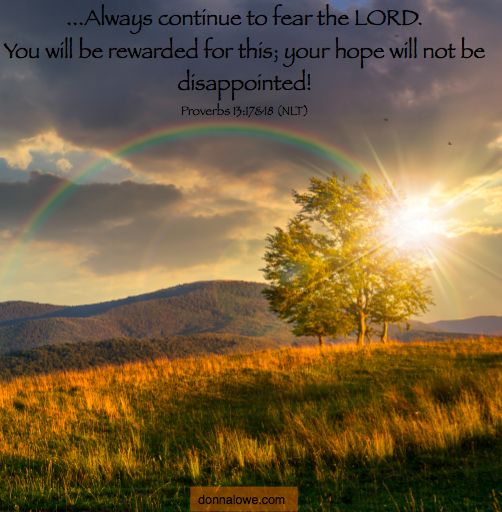 """Some days it feels like following Jesus is the toughest thing you do. It may feel like all it brings you is more trouble. When you think that everyone else is living the """"good"""" life, I pray this verse gives you much encouragement."""