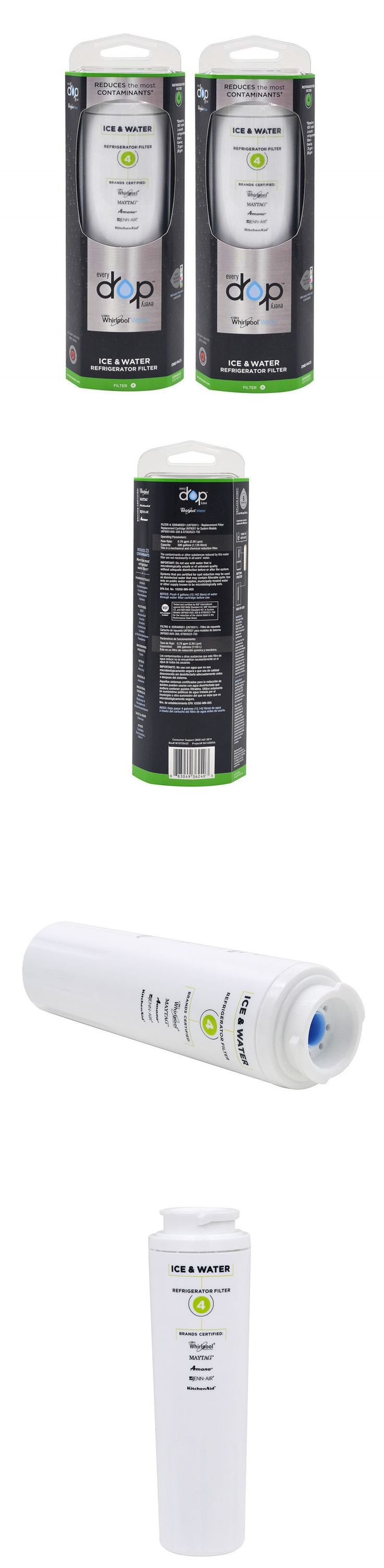 Water Filters 20684: 2 Pk Maytag Edr4rxd1 Ukf8001 Pur 4396395 Refrigerator Cyst Water Filter 4 -> BUY IT NOW ONLY: $35.77 on eBay!