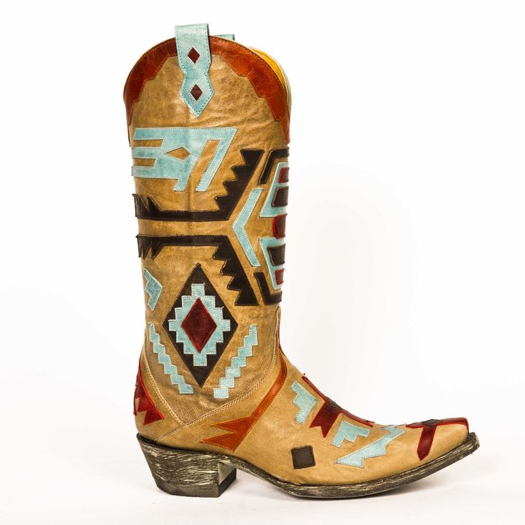 AZTEC style by Old Gringo - Love these!!