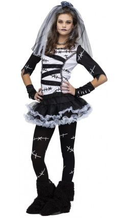 costume dalexie leffroyable zombie teen girl costumesteen halloween costumescute - Cool Halloween Costumes For Teenagers
