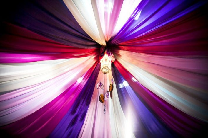 Moroccan Style Ceiling Drapes Arabian Nights Party And