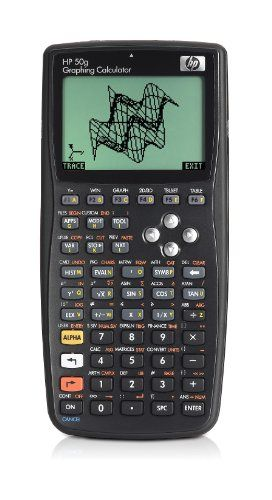 Hp 50G Graphing Calculator, 2015 Amazon Top Rated Math Materials #OfficeProduct