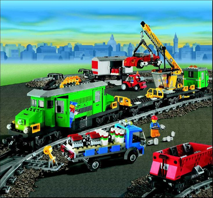 lego cargo train 60052 instructions