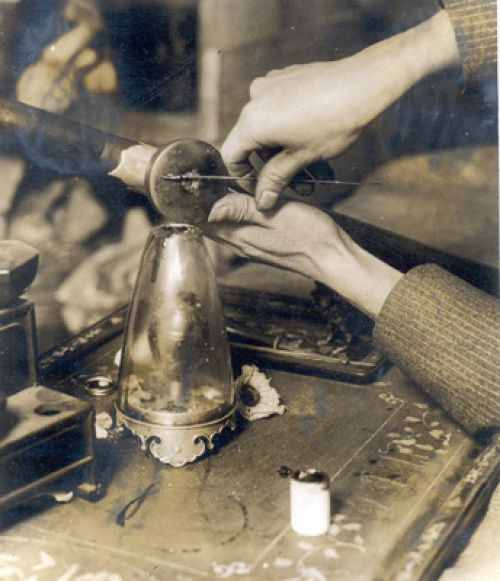 """Rare photo of an opium user preparing an opium """"pill"""" before smoking it in a pipe. The detailed description of Will preparing the opium at the backroom hop joint in """"Still Life with Murder"""" reveal author P. B. (Patricia) Ryan's meticulous research for evoking Victorian Boston in the Nell Sweeney mystery series."""