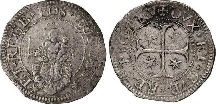 NumisBids: Numismatica Varesi s.a.s. Auction 65, Lot 382 : GENOVA - DOGI BIENNALI, III fase (1637-1797) Scudo 1699, sigle IBM....