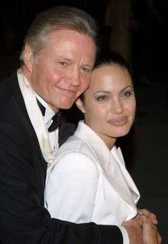 Jon Voight and his daughter Angelina Jolie in happier times.