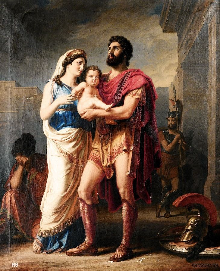 thetis and achilles relationship