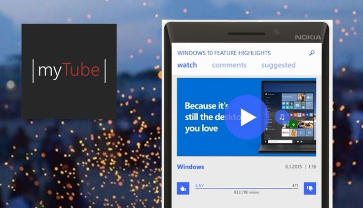 YouTube client myTube app now auto detects video links