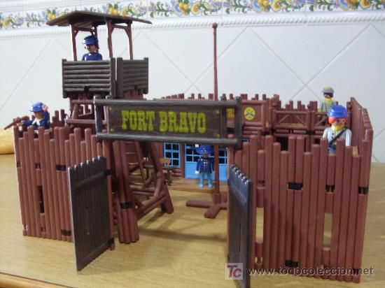 El fuerte de playmobil