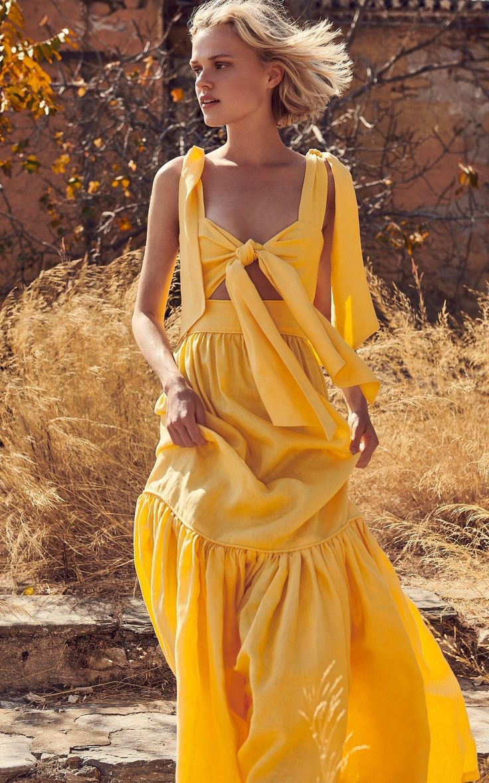 discover the latest trends schoene kleider gelbe mode modestil