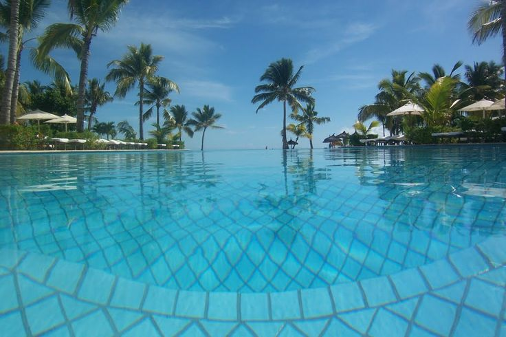 South Pool - Sugar Beach Resort - Mauritius
