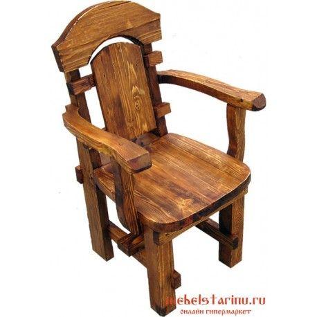 Кресло под старину Попович