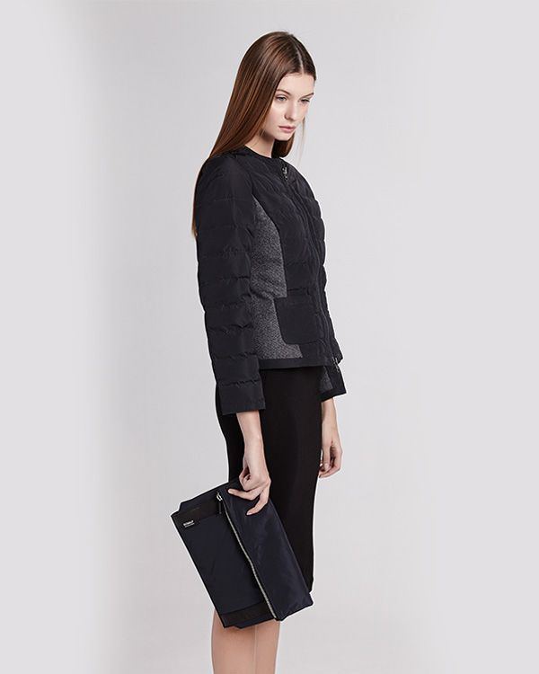 ECOALF | Fiss jacket and envelope bag, made from used plastic bottles and recycled wool