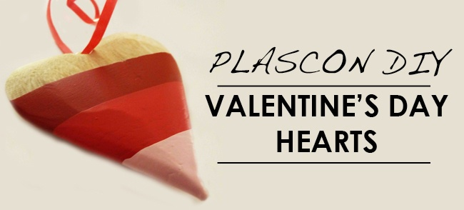 Plascon Do It Yourself Valentine's Day Hearts, Image Source plascon.co.za