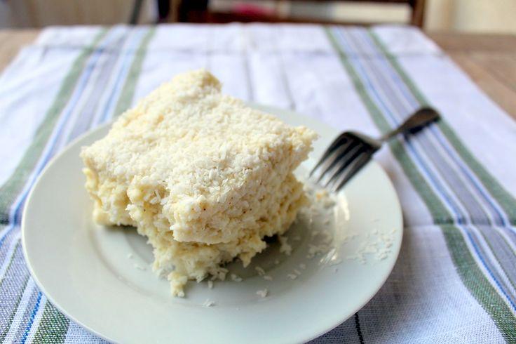 Kokosowe ciasto jaglane jak marzenie